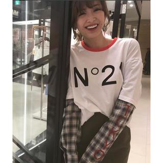 ヌメロヴェントゥーノ(N°21)のヌメロヴェントゥーノ 紗栄子着用 銀座限定 ロンT(Tシャツ(長袖/七分))