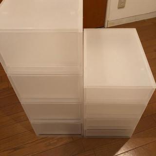 ムジルシリョウヒン(MUJI (無印良品))の無印 8個セット 引き出し(ケース/ボックス)
