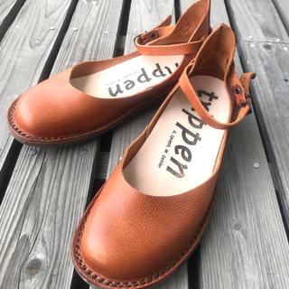 トリッペン(trippen)のTRIPPEN トリッペン Beauty ストラップシューズ 39(ローファー/革靴)