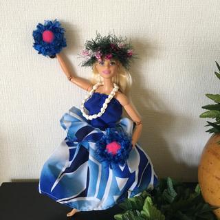 バービー(Barbie)のバービー人形 フラダンス衣装ウリウリ【No.141】(人形)