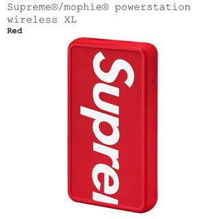 シュプリーム(Supreme)のsupreme Mophie Powerstation Wireless XL (その他)
