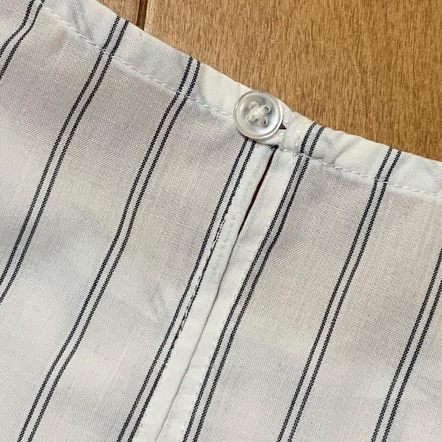 GU(ジーユー)のストライプシャツ レディースのトップス(シャツ/ブラウス(半袖/袖なし))の商品写真