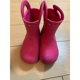 クロックス(crocs)のクロックス 長靴 15.5cm(長靴/レインシューズ)