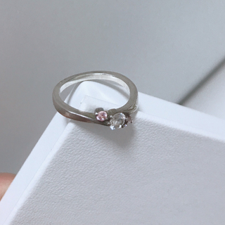 4°c  silver ring(リング(指輪))