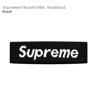 シュプリーム(Supreme)のSupreme Nike NBA Headband 19ss 黒(その他)