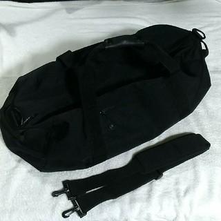 ムジルシリョウヒン(MUJI (無印良品))の無印良品 ボストンバッグ 大容量 ブラック 無印 MUJI(ボストンバッグ)