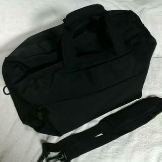 ムジルシリョウヒン(MUJI (無印良品))の無印良品 ボストンバッグ ブラック(ボストンバッグ)