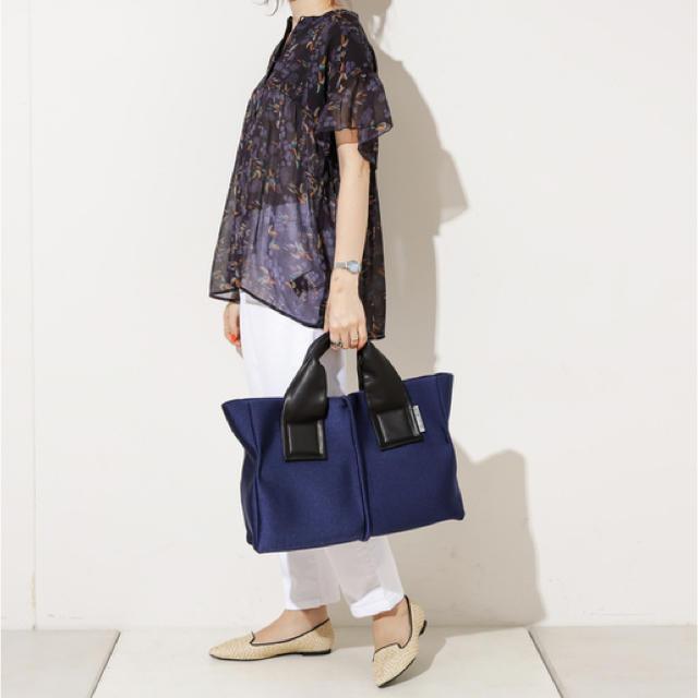 PAPILLONNER(パピヨネ)のkawakawa♡トートバック レディースのバッグ(トートバッグ)の商品写真