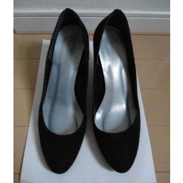 vanitybeauty(バニティービューティー)のvanity beauty 黒パンプス レディースの靴/シューズ(ハイヒール/パンプス)の商品写真