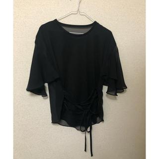 パメオポーズ(PAMEO POSE)のpameopose カットソー(カットソー(半袖/袖なし))
