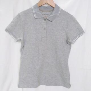 シマムラ(しまむら)のライトグレー ポロシャツ M(ポロシャツ)
