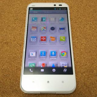 シャープ AQUOS PHONE SERIE SHL22 au ホワイト