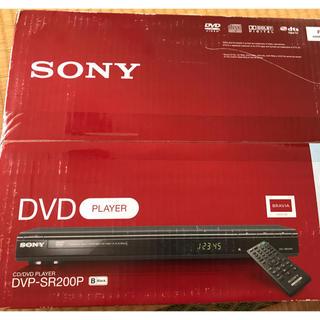 SONY - Sony CD/DVD プレイヤー DVP-SR200P