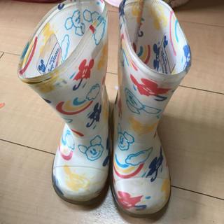 ディズニー(Disney)のレインブーツ 長靴 14センチ(長靴/レインシューズ)