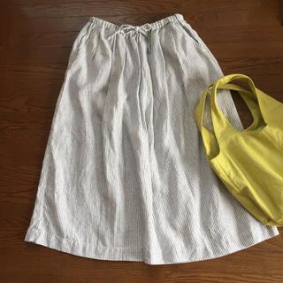 ムジルシリョウヒン(MUJI (無印良品))のMUJI ロングスカート(ロングスカート)