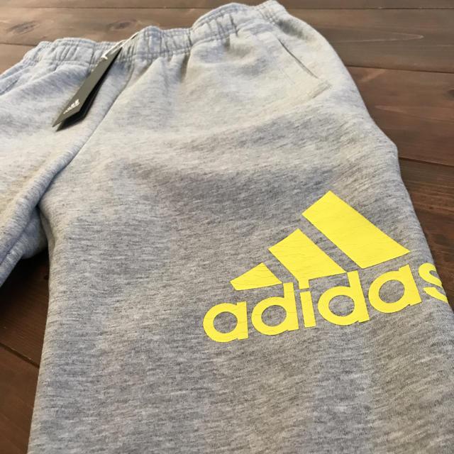 adidas(アディダス)の新品タグ付き  アディダス パンツ キッズ/ベビー/マタニティのキッズ服 男の子用(90cm~)(パンツ/スパッツ)の商品写真