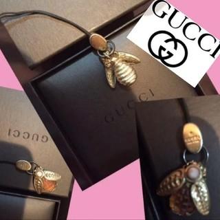グッチ(Gucci)の送料800込GUCCIグッチストラップ昆虫モチーフ入手困難美品レア箱希少価値 (キーホルダー)