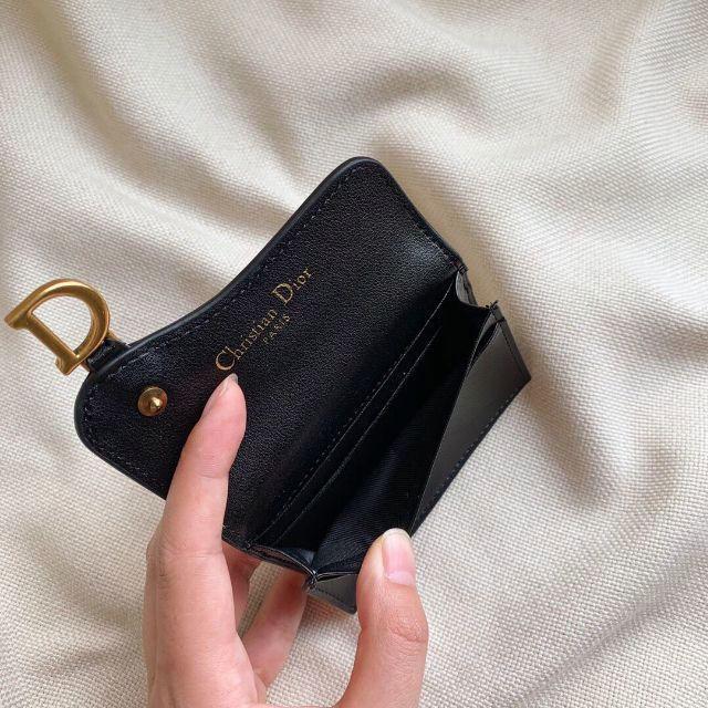 Dior(ディオール)のDior ディオール  コインケース 財布 黒 美品 未使用 レディースのファッション小物(コインケース)の商品写真