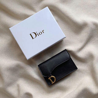 Dior - Dior ディオール  コインケース 財布 黒 美品 未使用