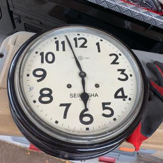 セイコー(SEIKO)の精工舎 駅舎時計(掛時計/柱時計)