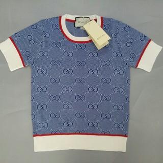 グッチ(Gucci)のグッチ人気品  Tシャツ トップス ニット S レディース(ニット/セーター)