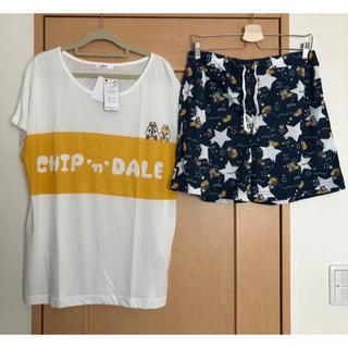 チップアンドデール(チップ&デール)の大きいサイズ      チップとデール(Tシャツ(半袖/袖なし))