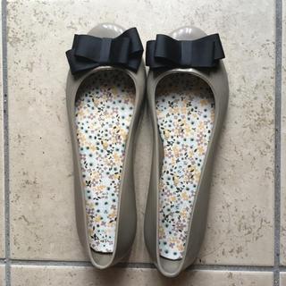 ブルーブルーエ(Bleu Bleuet)のブルーブルーエ レインシューズ レインパンプス L(レインブーツ/長靴)