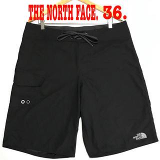 ザノースフェイス(THE NORTH FACE)のトーマスさん専用 36. 新品 ノースフェイス ボードショーツ 黒 ロング(水着)