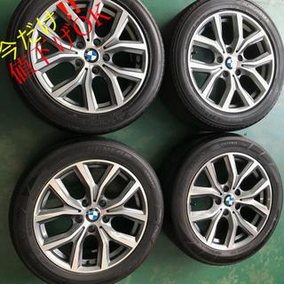 BMW - EF129 17×7.5J BMW 215/55R17 中古タイヤ付き 送料込み