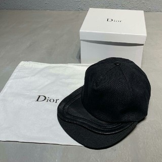 ディオール(Dior)のDIOR デイオール2019SS   キャップ  ブラック (キャップ)