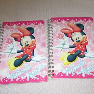 ミニーマウス(ミニーマウス)のミニーマウス リングノート 2冊(ノート/メモ帳/ふせん)