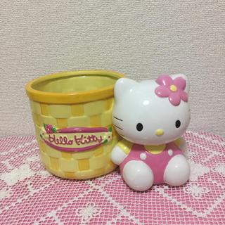 ハローキティ - 💖ハローキティ💖希少❣️可愛い💕陶器プランター💖植木鉢🌺🌵🍓