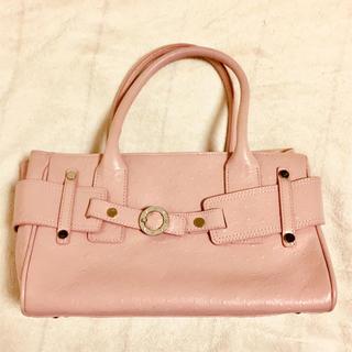 ヨンドシー(4℃)の4℃ピンク鞄(ハンドバッグ)