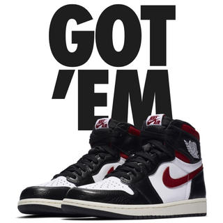 ナイキ(NIKE)のNIKE AIR JORDAN 1 retro high og gym red(スニーカー)