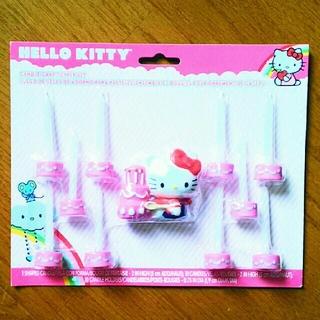 サンリオ(サンリオ)の新品未使用!  Hello Kitty キャンドル  ***即購入大歓迎! (日用品/生活雑貨)