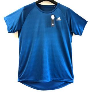 アディダス(adidas)の【新品タグ付き】アディダスTシャツ メッシュ地 トレーニングウェア Lサイズ(Tシャツ/カットソー(半袖/袖なし))