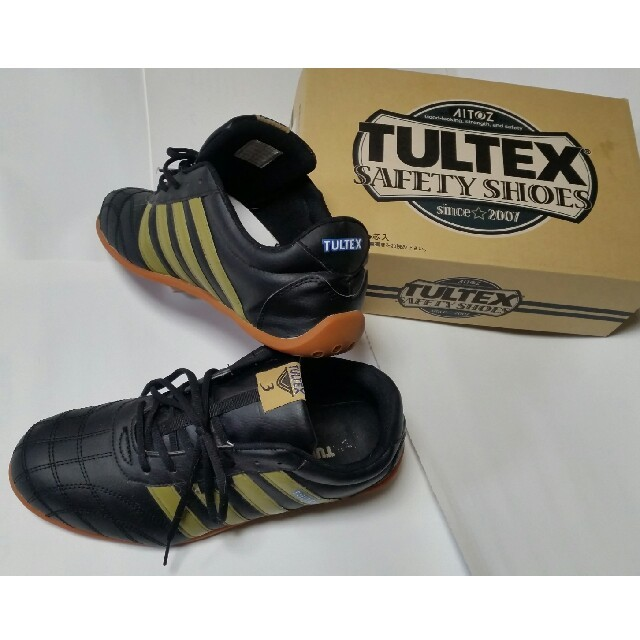 29cmスニーカー TULTEX 黒 美品 メンズの靴/シューズ(スニーカー)の商品写真