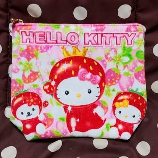 ハローキティ(ハローキティ)のキティちゃん♥いちごづくしポーチ(ポーチ)