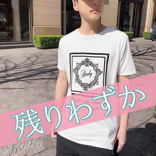 レディー(Rady)の新品 Rady ホテルシリーズメンズTシャツ(Tシャツ/カットソー(半袖/袖なし))