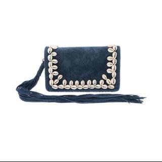 アリシアスタン(ALEXIA STAM)のCowrie Lace Long Tassel Clutch Bag (クラッチバッグ)
