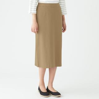 ムジルシリョウヒン(MUJI (無印良品))の無印良品 チノスカート ベージュ S  (ロングスカート)