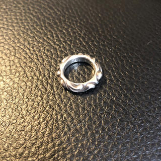 クロムハーツ(Chrome Hearts)のクロムハーツ スクロールバンド リング(リング(指輪))