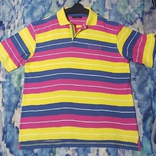 クージー(COOGI)のクージー ポロシャツ COOGI ポロシャツ オーバーサイズ マルチ ボーダー(ポロシャツ)