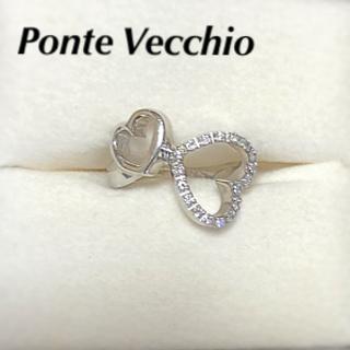 ポンテヴェキオ(PonteVecchio)のハートモチーフリングk18 ポンテヴェキオ クーポンセール(リング(指輪))