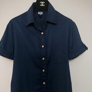 シャネル(CHANEL)のシャネル シャツ ヴィンテージ(シャツ/ブラウス(半袖/袖なし))