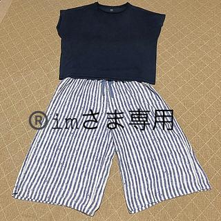 ユニクロ(UNIQLO)の®️imさま専用 リラコ&Tシャツセット(ルームウェア)