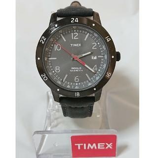 タイメックス(TIMEX)のTIMEX T2N897 レザーバンド 腕時計 新品未使用(腕時計(アナログ))