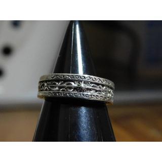SAAD 太陽神 アラベスクリング 7号 シルバーリング 指輪 アクセサリー(リング(指輪))