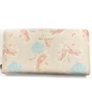 リズリサ(LIZ LISA)の新品 リズリサ 花柄 長財布 薄ピンク(財布)
