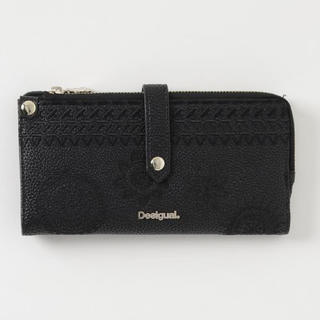 デシグアル(DESIGUAL)の「デシグアル (Desigual)」ベルトデザイン ロングウォレット(財布)